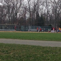 Photo taken at Memorial Field by Mike M. on 4/13/2014