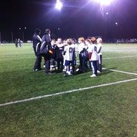 Photo taken at Preston Athletic Fields & Park by Zoe B. on 1/31/2013