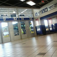Photo taken at Greyhound Bus Lines by Adam T. on 10/1/2012