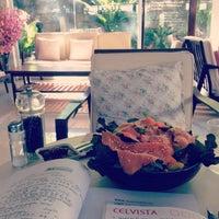 Photo taken at Re-Cafe by Vna V. on 6/3/2014