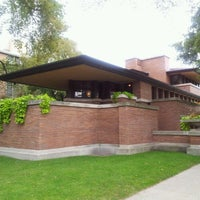 Photo taken at Frank Lloyd Wright Robie House by Matt Y. on 9/21/2012