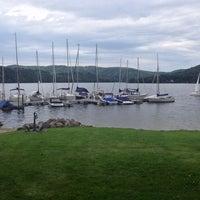 Photo taken at Modrá loděnice - Jachtklub by Gregory Y. on 8/23/2014