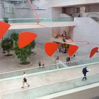 Photo taken at National Gallery of Art - East Building by Eric J. on 10/27/2012