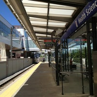 Photo taken at Health Sciences/Jubilee LRT Station by Mark on 7/1/2013