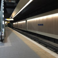 Photo taken at Grandin/Government Centre LRT Station by Mark on 3/6/2016