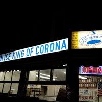 Photo taken at The Lemon Ice King of Corona by Jaqui on 4/20/2013