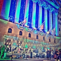 Photo taken at New York Stock Exchange by Edwin D. on 10/18/2013