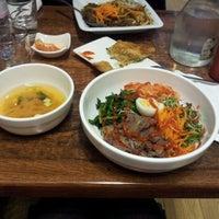 Photo taken at Bibimbab Cafe by Anna B. on 1/3/2013