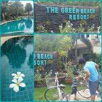 Photo taken at The Green Beach Resort @ Pranburi by Aom P. on 6/13/2014