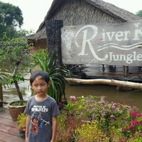 Photo taken at River Kwai Jungle View Resort by Aom P. on 10/23/2016
