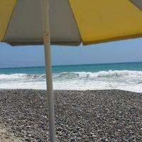 Photo taken at Palm Beach Park - Poche Beach by Taylor M. on 5/17/2014