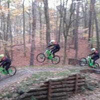 Photo taken at Müggelberge Downhill by Kathi on 11/10/2013