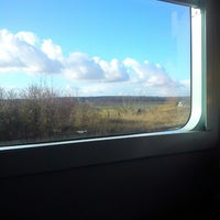 Photo taken at Gare SNCF de Breteuil-Embranchement by Typhaine Q. on 1/1/2013