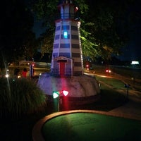 Photo taken at Swing A Round Fun Town by Ryan M. on 7/23/2014
