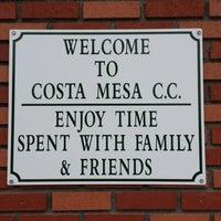 Photo taken at Costa Mesa Country Club by Derek S. on 5/31/2013