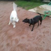 Photo taken at Shaw Neighborhood Dog Park by Bryan O. on 6/27/2015
