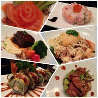 Photo taken at YASASHII Japanese Fusion Cuisine by Ja J. on 2/8/2013