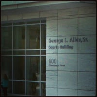 Photo taken at George L. Allen Sr. Courts Building by Jaremy S. on 11/5/2013
