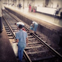 Photo taken at Kharghar Railway Station by Anup B. on 6/21/2013