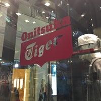 Photo taken at Onitsuka Tiger by Charo on 4/7/2016
