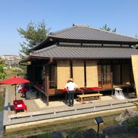 Photo taken at 帰真園旧清水邸書院 by Jerry M. on 4/22/2018