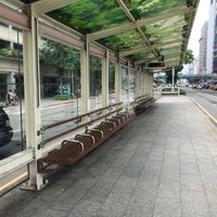Photo taken at 公車信義光復路口站 by Jerry M. on 5/15/2018