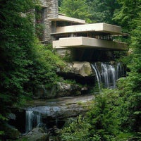 Photo taken at Fallingwater by Debi B. on 6/3/2013