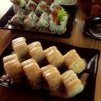 Photo taken at Sumo Sushi by monalisa s. on 12/20/2012