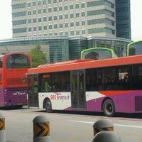 Photo taken at Jurong East Temporary Bus Interchange by KýlęAārön🌹 ك. on 2/22/2017