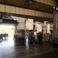 Photo taken at Woodlands Temporary Bus Interchange by KýlęAārön🌹 ك. on 8/24/2013