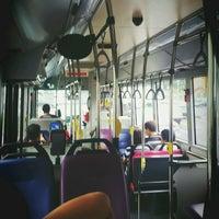 Photo taken at SMRT Buses: Bus 858 by KýlęAārön🌹 ك. on 11/22/2016