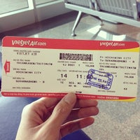 Photo taken at VietJet Air by Thitiwat T. on 1/16/2014