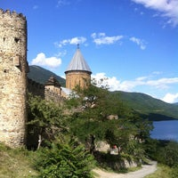 Photo taken at Ananuri Castle Complex by ikosten on 8/10/2013