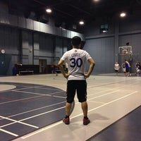Photo taken at Serendra Basketball Court by John C. on 5/3/2014