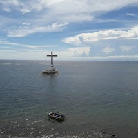 Photo taken at Sunken Cemetery Cross by Charline T. on 8/20/2017