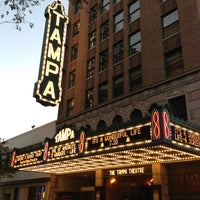 Photo taken at Tampa Theatre by Jon L. on 12/21/2012