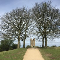 Photo taken at Broadway Tower by Nat P. on 4/11/2017