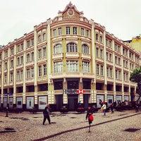 Photo taken at HSBC / Palácio Avenida by Reinaldo O. on 5/23/2013