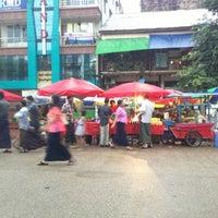 Photo taken at Kandawlay Market by Haku S. on 7/16/2013