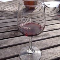 Photo taken at Paumanok Winery by Adrienne S. on 10/27/2012
