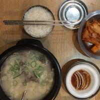 Снимок сделан в 신선설농탕 пользователем Mikanchan 11/16/2017