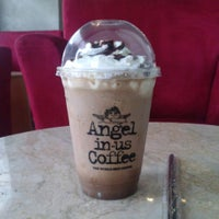 Photo taken at Angel-in-us Coffee by karmila r. on 4/3/2013