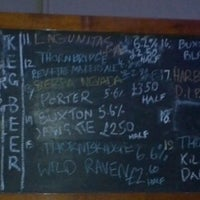 Photo taken at The Euston Tap by Mark T. on 11/8/2013