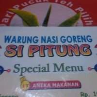 Photo taken at warung si pitung by Cuncun C. on 6/14/2013