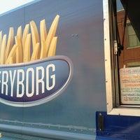Photo taken at Fryborg by Sean H. on 2/2/2013