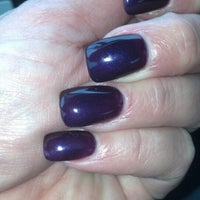 Photo taken at Super Nails by Debra R. on 1/4/2014