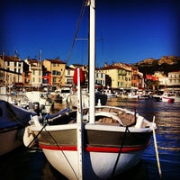 Photo taken at Port de Cassis by David M. on 5/26/2013