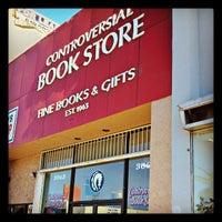 Снимок сделан в Controversial Book Store пользователем Erik W. 7/30/2013
