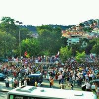 Photo taken at Cumhuriyet Parkı by Seda A. on 6/1/2013