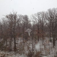 Photo taken at National Park Seminary by Eric F. on 12/8/2013